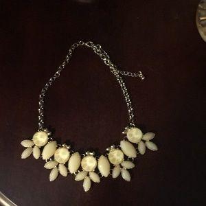 Francesca's Ivory statement necklace.